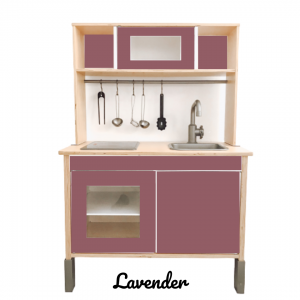 lavender sticker set voorkant ikea duktig keuken
